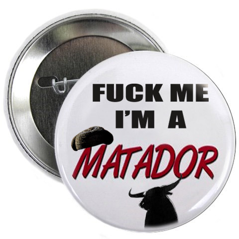 Anti corrida, badge matador